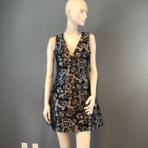 NWT Alice + Olivia Brocade Mini Dress Sz 2
